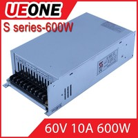 600w 60v switching power supply 60v 10a dc power supply