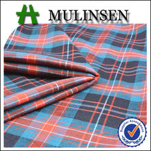 Mulinsen Textile Cheap TC Stretch Polyester Cotton Spandex Yarn Dyed Stripe Woven Fabrics