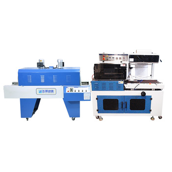 Automatic carton box shrink wrapping machine