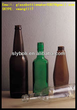 300ml 330ml 450ml 500ml 640ml glass beer bottle green brown clear color