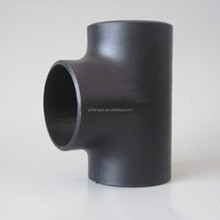 asme b16.9 carbon steel a234 wpb tee reducing sch40 pipe fittings