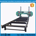 heavy duty band sawmill machine large log cutting horizontal band saw