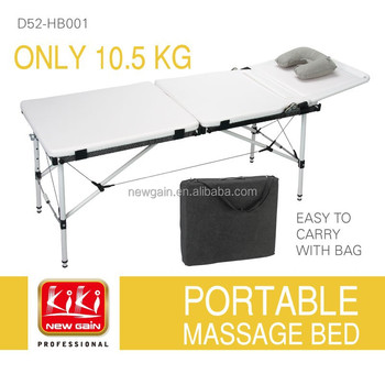 Only 10.5kgs folding massage Bed. Best massage bed. massage table. Portable massage bed