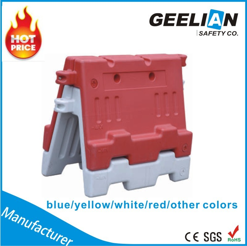 Heavy Duty and Portable Plastic Jersey Water Filled Road Barrier