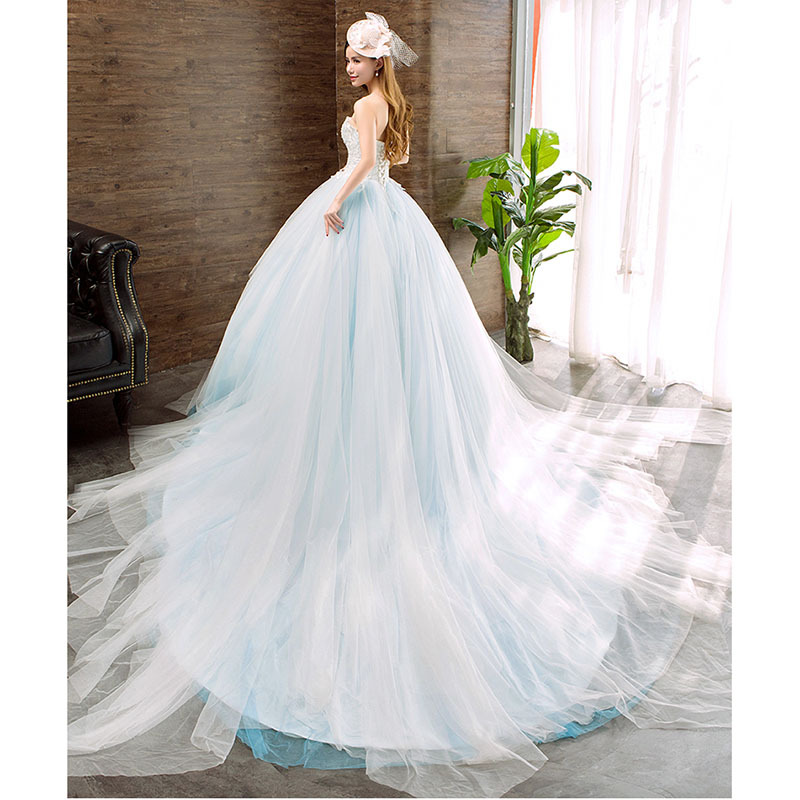 2019 Korean Wedding Party Dress Lace Bridal Gown From China Fashion
