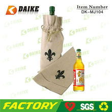 Manufacturers Eco Jute Personalized Wine Gift Bag DK-MJ104