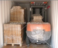 free mast 3.0 ton diesel forklift can be used container