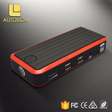 Safety charging 12V portable lithium ion battery jumpstart for mobiles and Auto