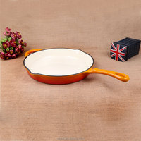 Black Round enamel large metal dish pan