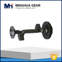 transmission machining part spur gear shaft motorcycle transmission gear