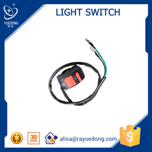 Universal Motorcycle Light LED Switch Handle switch Two wire Use for Accident Hazard Light Switch on/off headlights fog lamps