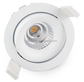 Ra98 sunset dim to warm 2000k-3000k 83mm cutout high power led downlight 9w 13w 15w ip44