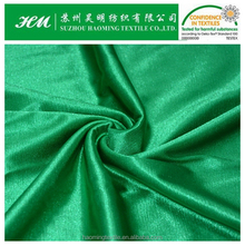 97 polyester 3 spandex fabric soft satin fabric