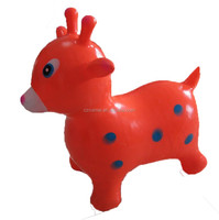 Hot Sell PVC Cute Inflatable cartoon Animal toy For Kids