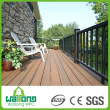 Simple design good fire resistance wpc pergola flooring