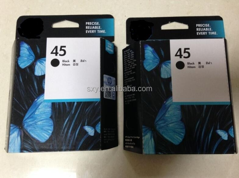 New premium Remanufactured and Compatible printer refill Ink Cartridge for HP 51645A/for HP 45