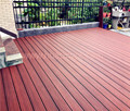 Outdoor water-proof and anti-slip Capped / Coextrusion WPC wood composite decking
