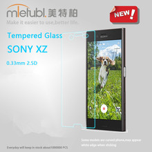 100% quality gurantee mobile phone accessories of 0.3mm 2.5D screen protector tempered glass for sony x2 protective film
