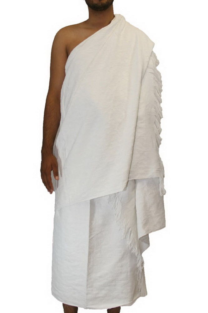 wholesale polyester super white cotton hajj towels prayer by jacquard