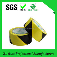 Made In China Self Adhesive Yellow Warning PVC Marking TAPE