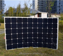 China Factory Offer High Quality Cheap 150W 180W 200Watt Solar Panel Price Semi Flexible Sunpower Solar