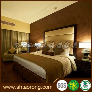 5 star Crown Plaza hotel standard room furniture HS-051