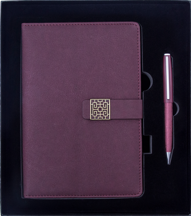 2018 idea gifts notebook pen corporate business gift set with logo custom