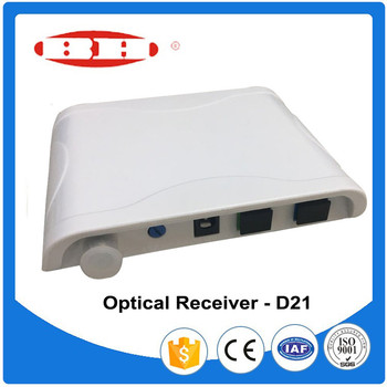 AGC Micro CATV FTTH WDM 1550 optical receiver with return path