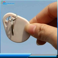 Hot new products for 2015 access control 125khz /13.56mhz rfid keyfob ,abs token keyfob in 2014