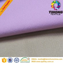 100 cotton recycled drill dyed fabric