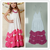 CONICE NINI brand latest lace boutique design wholesale cotton material sleeveless girl kids long dress