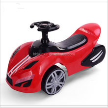 Three Wheels Fresh PP Walking wiggle car parts Baby Swing Cars for Kids