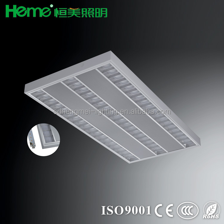 72W surface mount suspended ceiling led strip light fitting luminaire lighting