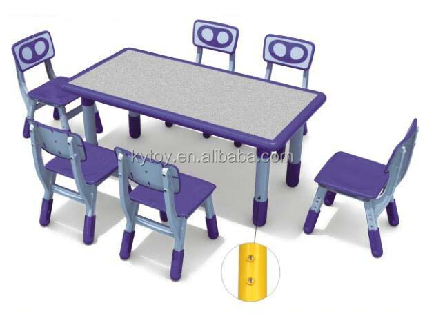 Kids Classroom Table and Chair for Child