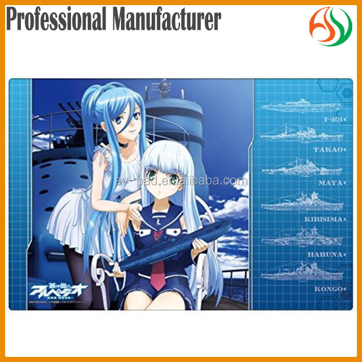 AY Full Sexy Photos Hot Girls Mouse Pad /Silicone Rubber Card Game Play Mat Manufacturer