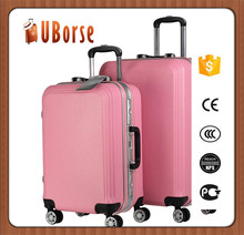 Protective plastic bag luggage abs hard cover luggage of lightweight trolley luggage