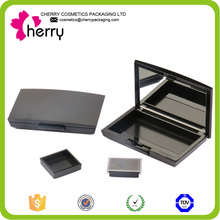private label magnetic container makeup eyeshadow palette with mirror