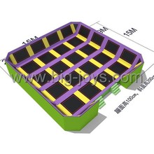Bigjoys sky zone free jumping trampoline park manufactory BJ-GXTP070534