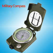 BIJIA 60-2A High Quality Outdoor Professional Zinc Alloy Metal Military Compass Marine Compass