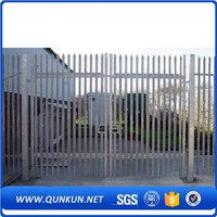 good quality steel chain link fence house main gate designs