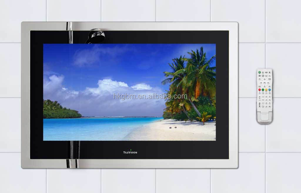wholesale LCD panel sauna room waterproof case tv