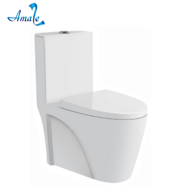 Guangdong sanitary ware manufactuer flushing colored ceramic wc toilet with s-trap/p-trap