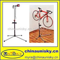 pro bike adjustable 41'-75' repair stand w/ telescopic arm cycle bicycle rack