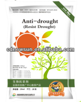 Anti-Drought Liquid Foliar fertilizer for improving drought resistance in crops