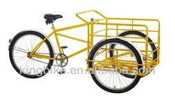 "2015 new cargo trikes for cargo/26"" cheap cargo tricycle with coaster brake"