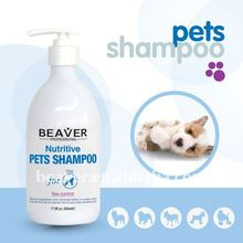 Beaver Nutritive Pet Shampoo For Sensitive Skin(2016 hot sale)