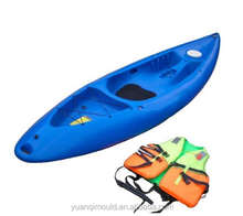 Rotomolding fishing kayak mould, plastic kayak roto mold for sale, OEM rotomolded canoe/boat rotational moulds
