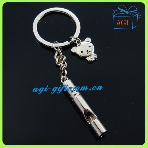 metal whistle keychain finder
