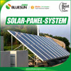 Residential solar panel alternative solar energy 6kw solar power system home