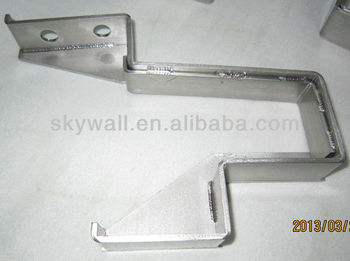High Quality custom stainless steel bracket fabrication